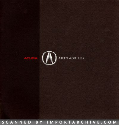 1992 Acura Brochure Cover