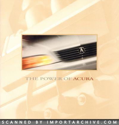 1997 Acura Brochure Cover