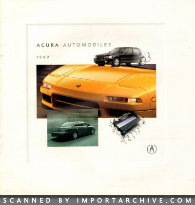 1999 Acura Brochure Cover