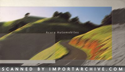 2003 Acura Brochure Cover