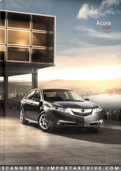 2009 Acura Brochure Cover