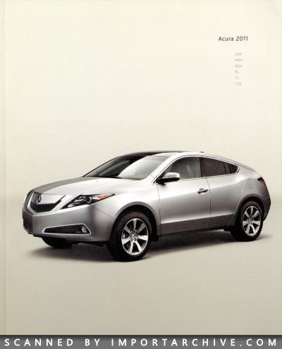 2011 Acura Brochure Cover