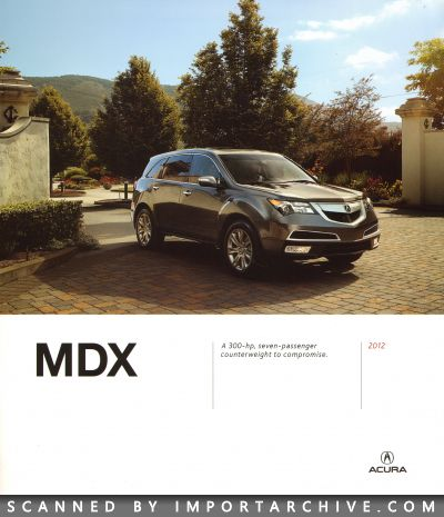 2012 Acura Brochure Cover