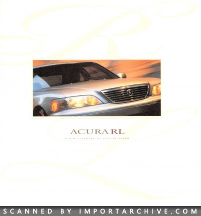 1996 Acura Brochure Cover
