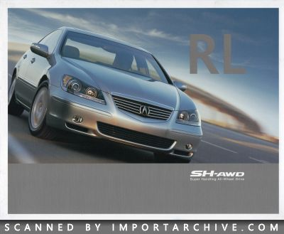 2005 Acura Brochure Cover