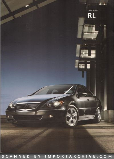 2007 Acura Brochure Cover