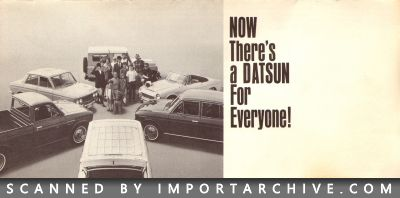 1967 Nissan Brochure Cover