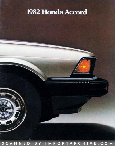 1982 Honda Brochure Cover