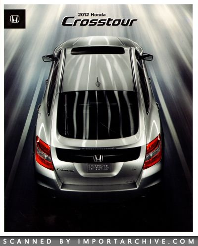 2012 Honda Brochure Cover