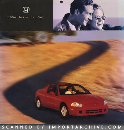1996 Honda Brochure Cover