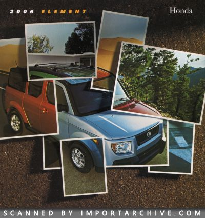 2006 Honda Brochure Cover