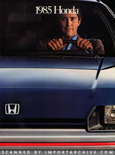 1985 Honda Brochure Cover