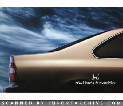 1994 Honda Brochure Cover