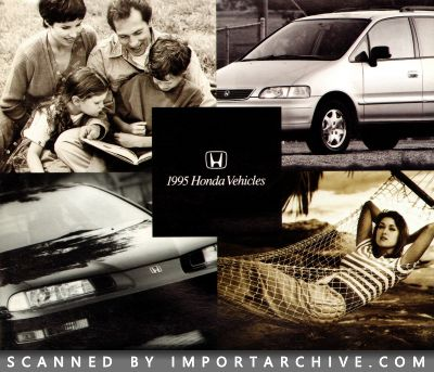 1995 Honda Brochure Cover