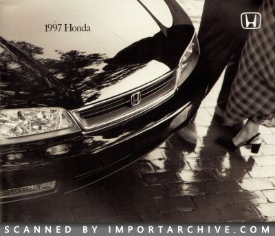1997 Honda Brochure Cover