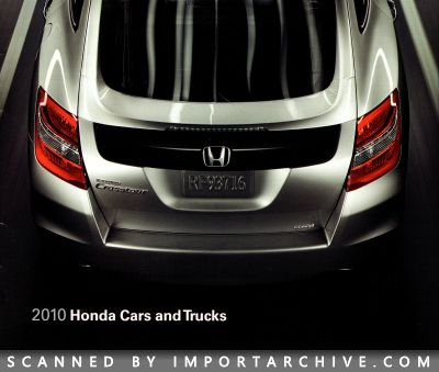 2010 Honda Brochure Cover