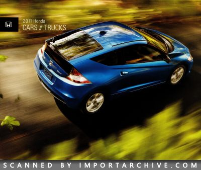2011 Honda Brochure Cover