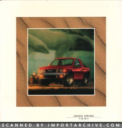 ImportArchive / Isuzu Amigo Brochure 1989‑1994 Free Preview