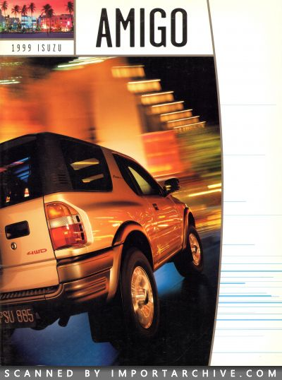 1999 Isuzu Brochure Cover