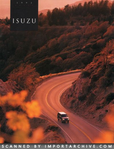 1993 Isuzu Brochure Cover