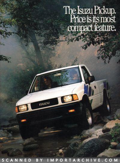 ImportArchive / Isuzu Pickup Brochure 1988‑1995 Free Preview