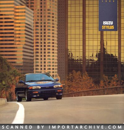 1992 Isuzu Brochure Cover