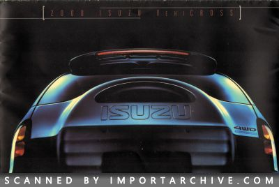2000 Isuzu Brochure Cover