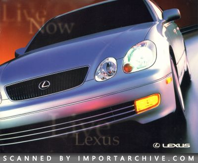 1998 Lexus Brochure Cover