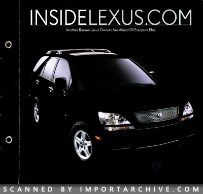 2001 Lexus Brochure Cover