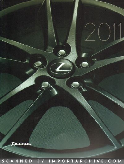 2011 Lexus Brochure Cover