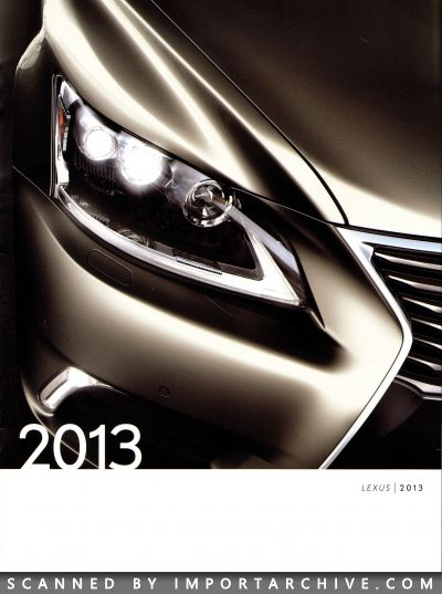 2013 Lexus Brochure Cover