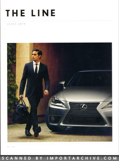 2014 Lexus Brochure Cover