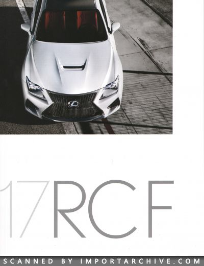 2017 Lexus Brochure Cover