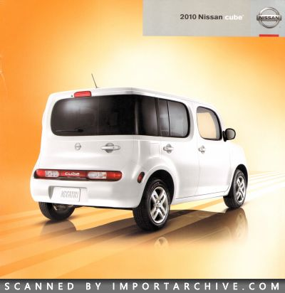 2010 Nissan Brochure Cover