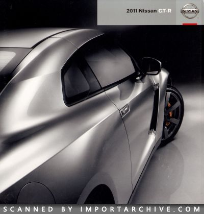 2011 Nissan Brochure Cover
