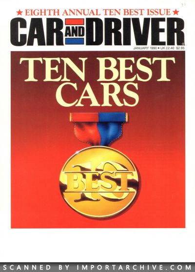1990 Nissan Brochure Cover