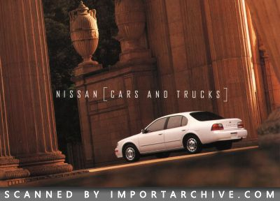 1996 Nissan Brochure Cover