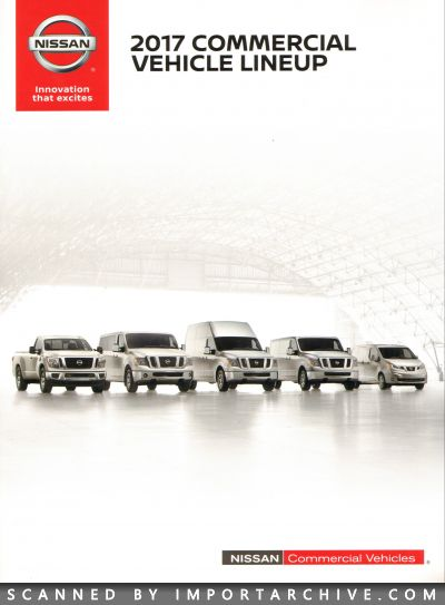 2017 Nissan Brochure Cover