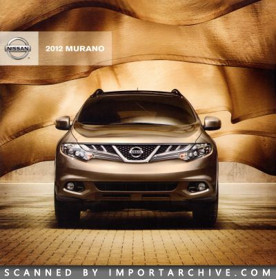 2012 Nissan Brochure Cover