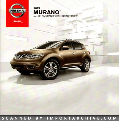 2013 Nissan Brochure Cover