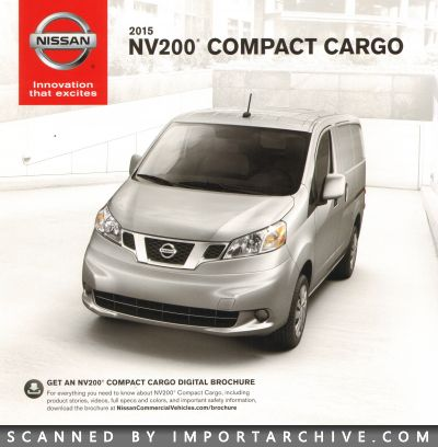 2015 Nissan Brochure Cover