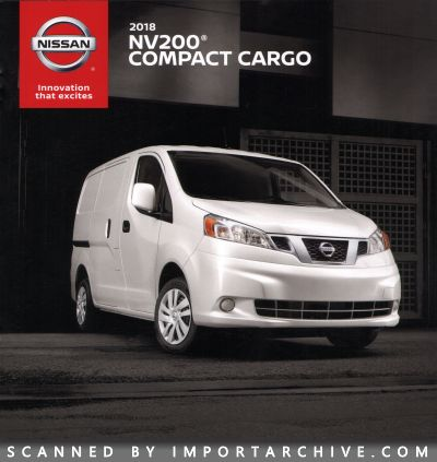 2018 Nissan Brochure Cover