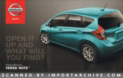 2014 Nissan Brochure Cover