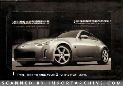 2004 Nissan Brochure Cover