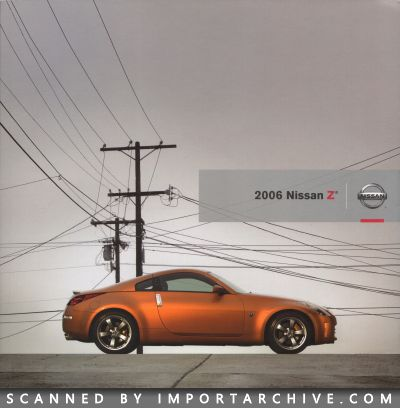 2006 Nissan Brochure Cover