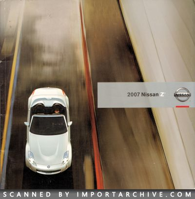 2007 Nissan Brochure Cover
