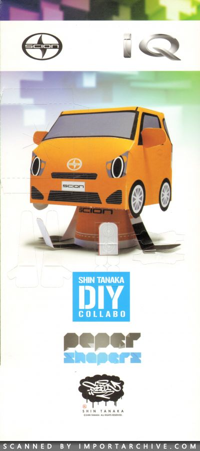 2012 Scion Brochure Cover