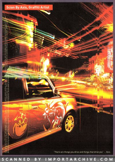 2003 Scion Brochure Cover