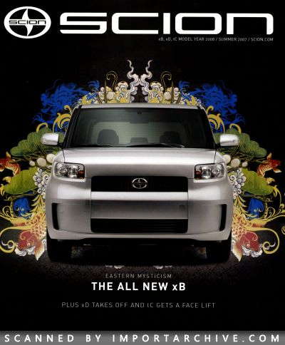 2007 Scion Brochure Cover