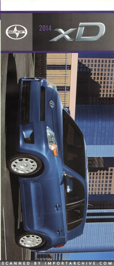 2014 Scion Brochure Cover